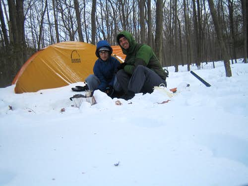Snowshoeing in Harriman