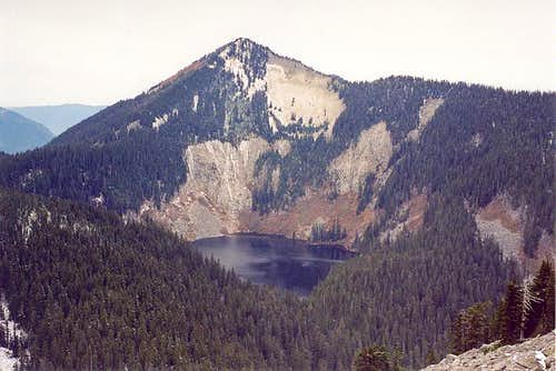 Mt. Defiance and Lake Kulla...