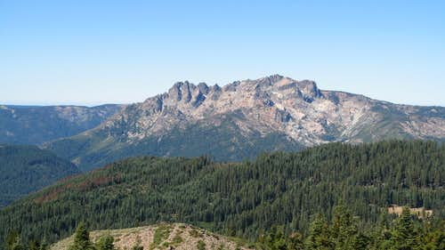 Sierra Buttes from the summit of Haskell Peak