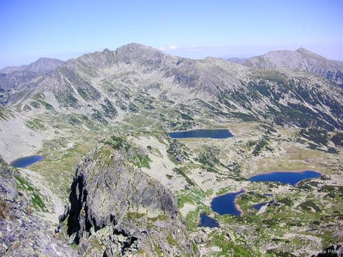 Alpine lakes of Retezat Mountains