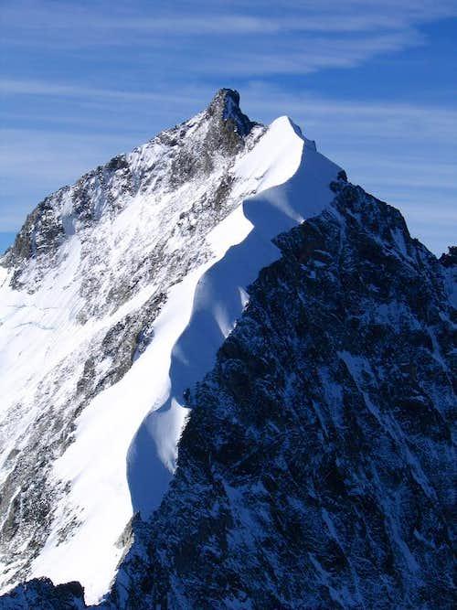 The Biancograt of Piz Bernina