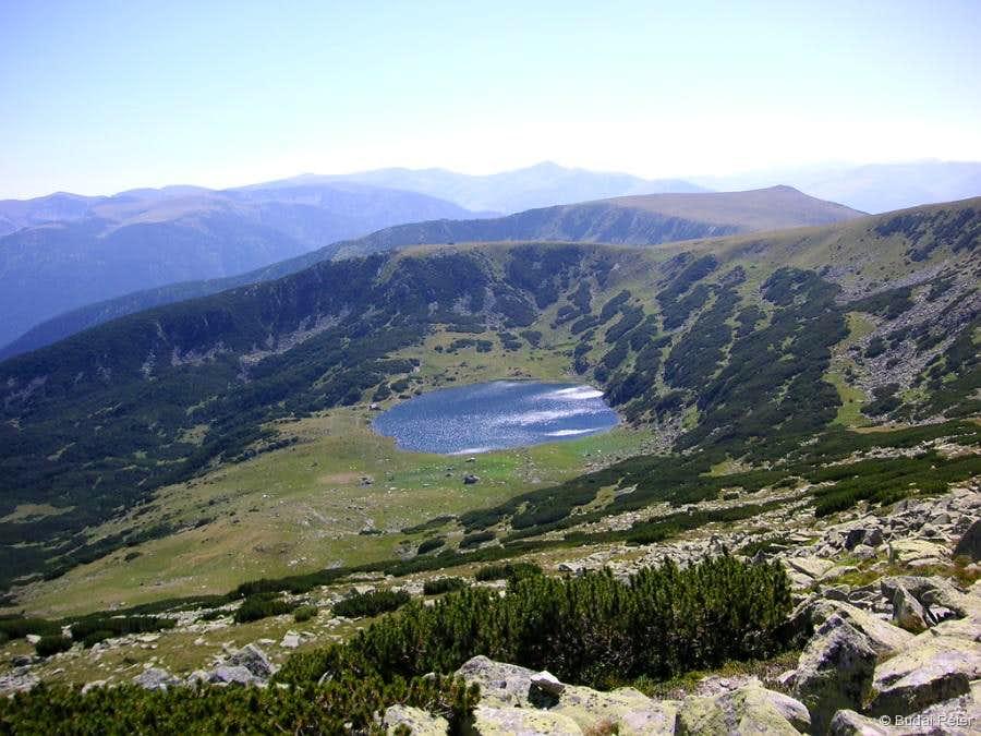 Zănoaga Lake