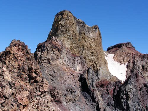North Sister Summit Block