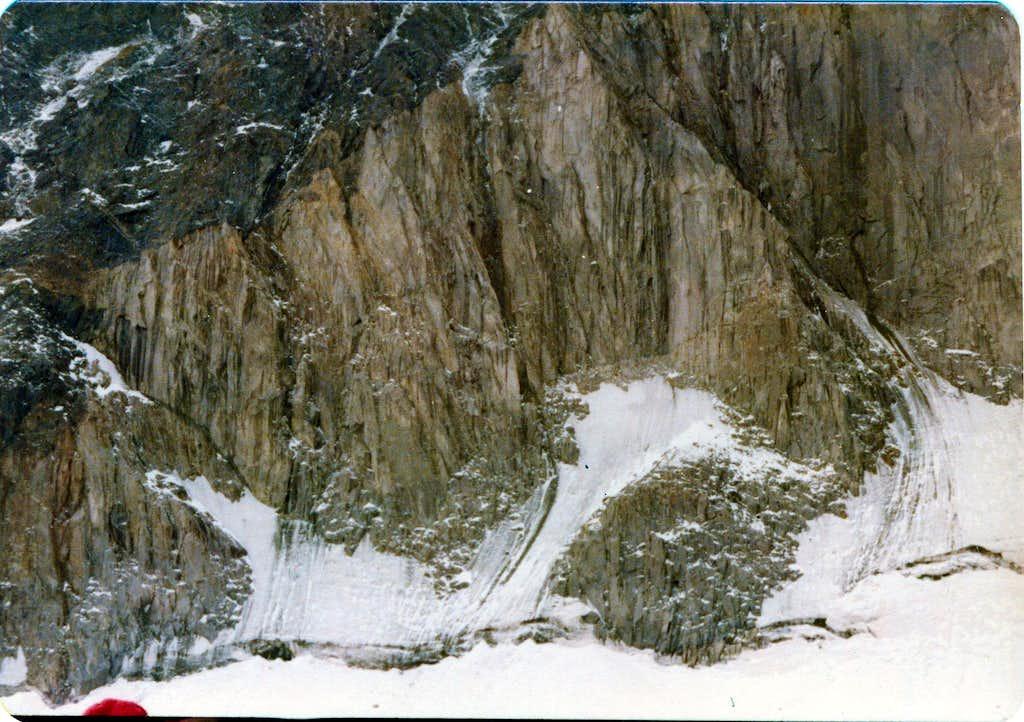 Big Wall Alamkooh 4850m