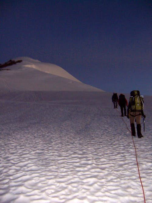 Heading Toward the Summit