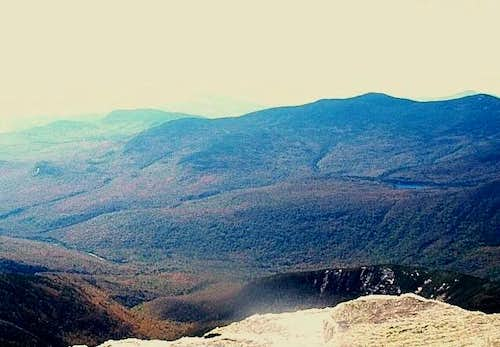 Views from Mt. Lafayette...