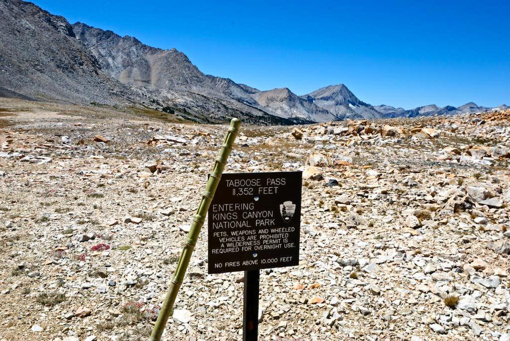 Taboose Pass Trip Report