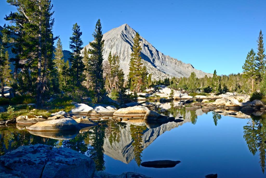 Arrow Peak in Bench Lake