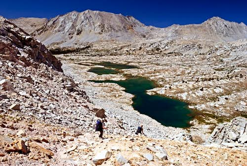Upper Lake Basin Kings Canyon National Park