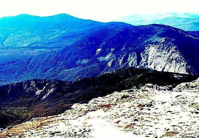 Views from Mt. Lafayette....