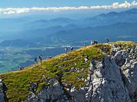 From the summit of Storzic