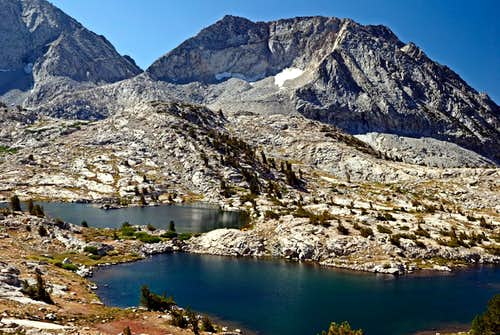 Dumbbell Lakes Basin