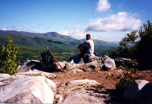 Contemplating Mt. Greylock...