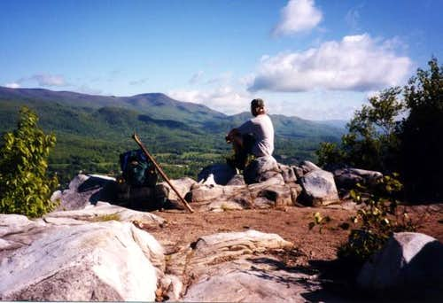 Contemplating Mt. Greylock...