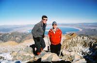 Mt Dana Summit