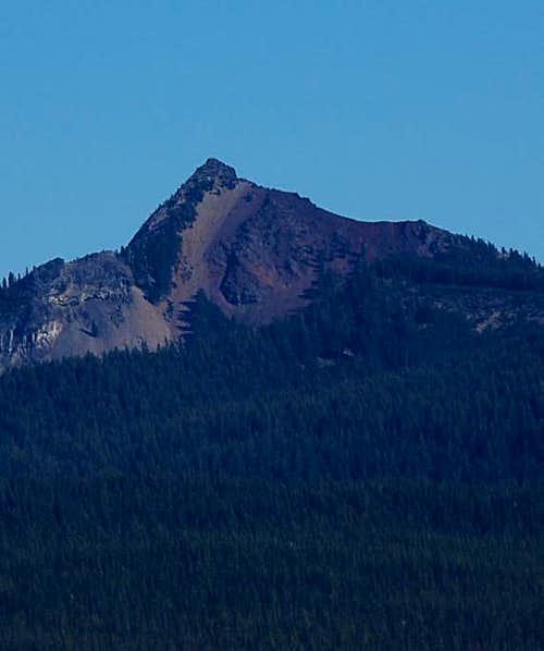 Cowhorn Mt. from Rockpile Trail near Diamond Peak