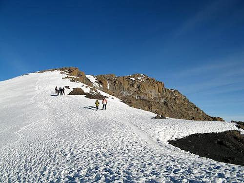 Descent from summit