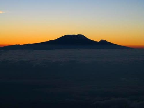Kili sunrise