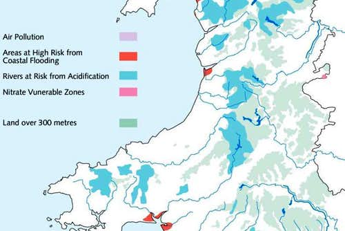 Causes of Environmental Stress in the Cambrian Mountains