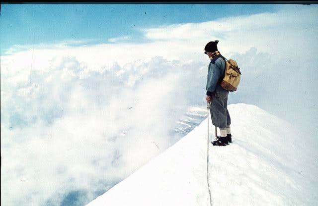 Piz Roseg: summit