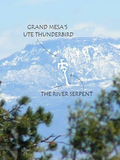 The Grand Mesa Thunderbird in Winter