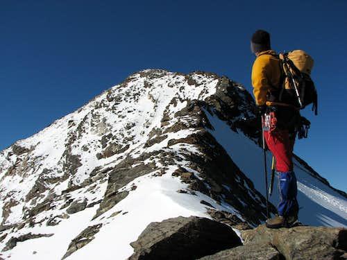 On the N rdige of Schneebige Nock / Monte Nevoso, 3358m.