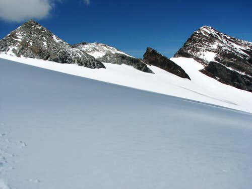 View back to ridge between Monte Nevoso and Monte Magro.