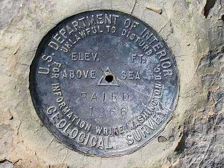 Mt. Baird (ID) Benchmark