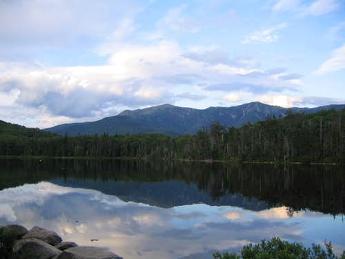 The view from Lonesome Lake