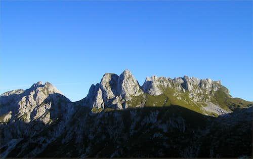 Skala, 2133m and Male Spice / Cime Verdi, 2167m