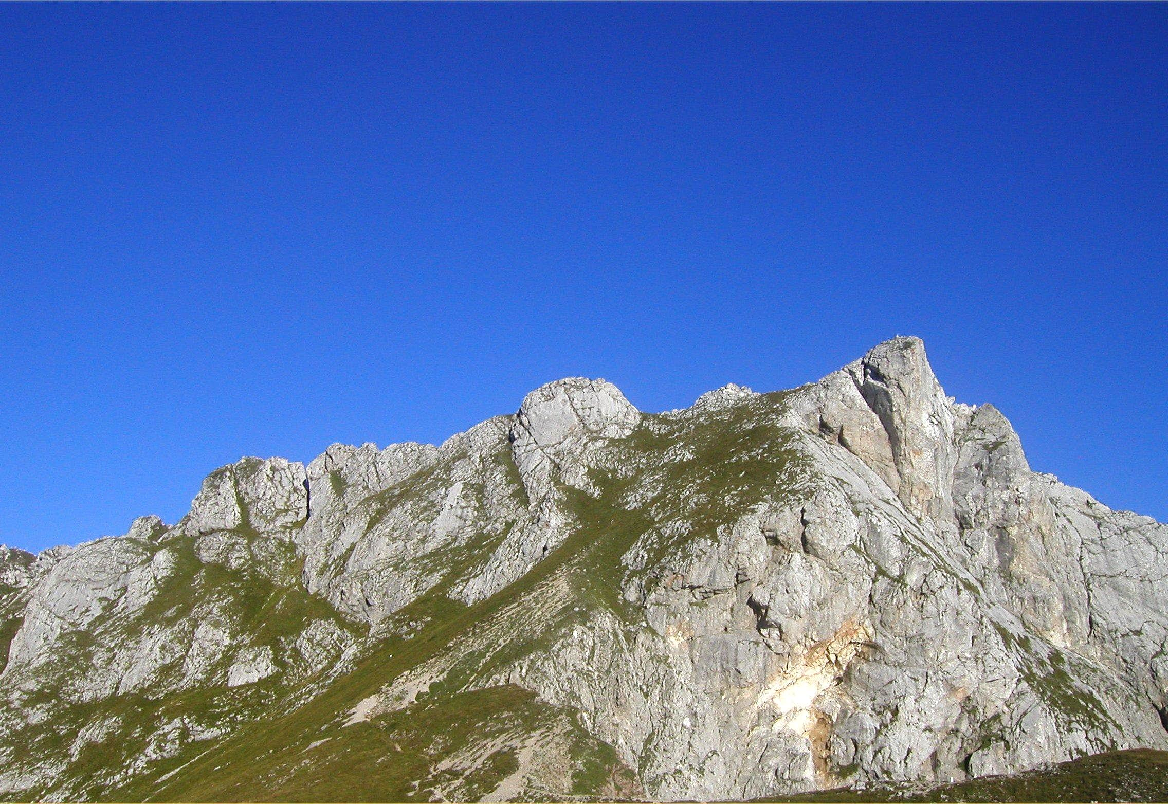 Routes on Skala and Male Spice / Cime Verdi