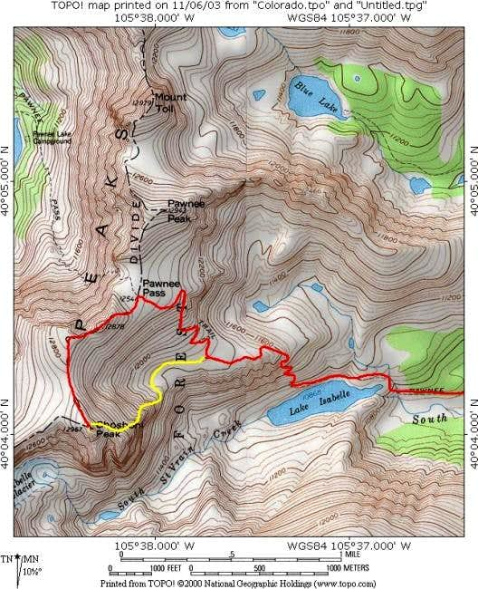 This topo shows the standard...