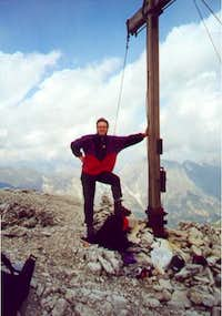 The summit of the Gschnitzer...
