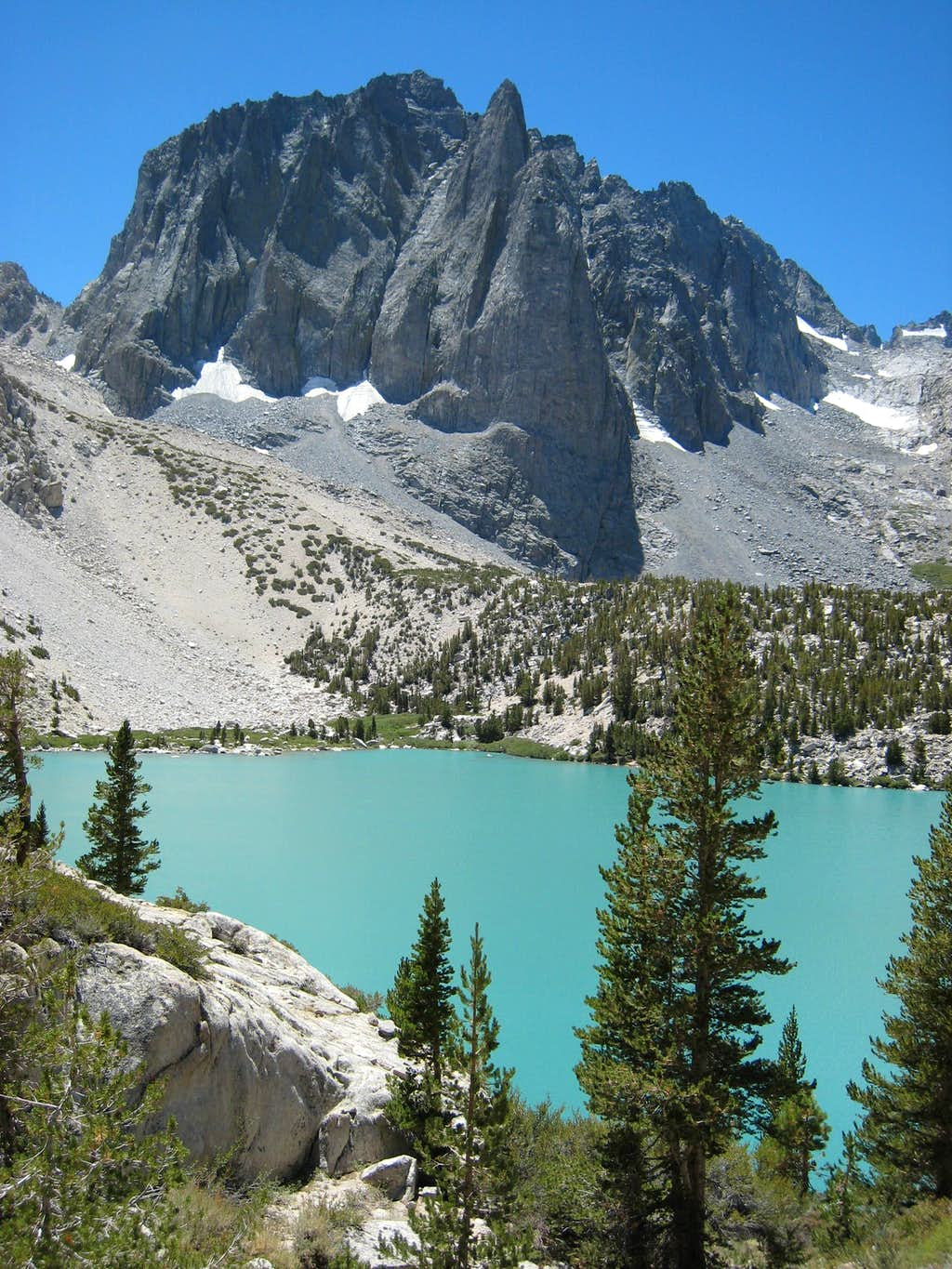 Temple Crag (12,999') Above 2d Lake