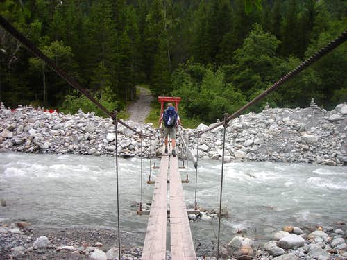 Bridge over the Kander