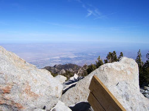 Palm Springs View from San Jacinto