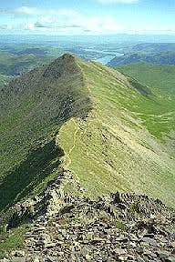 This is the easier arete,...