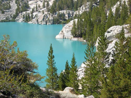 First Lake seen from N. Fork Trail