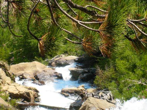 North Fork Big Pine Creek, Sierra Nevada