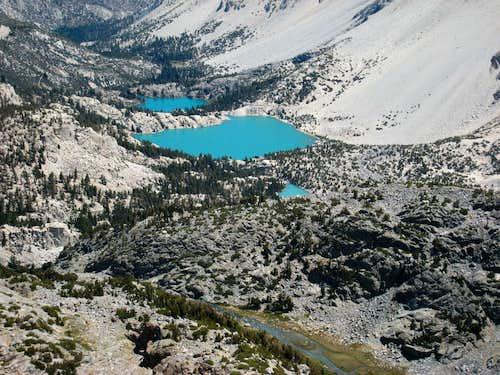 Big Pine Lakes, Sierra Nevada