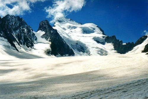 Hautes-Alpes, Le Glacier Blanc
