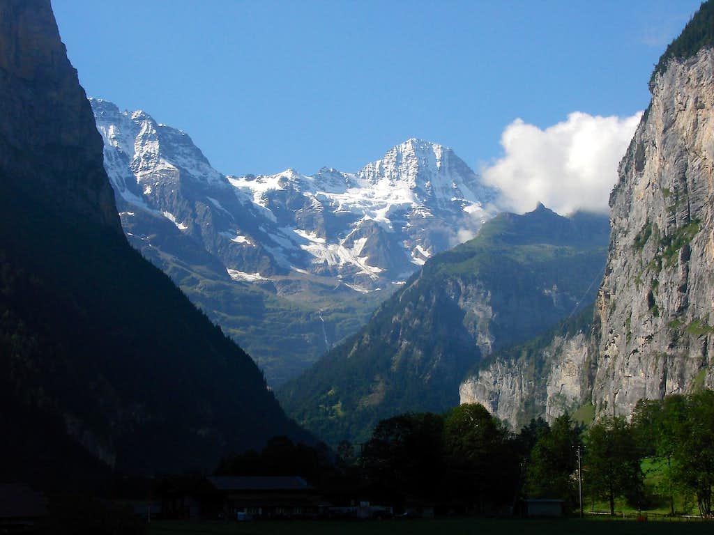 Breithorn from Lauterbrunnental