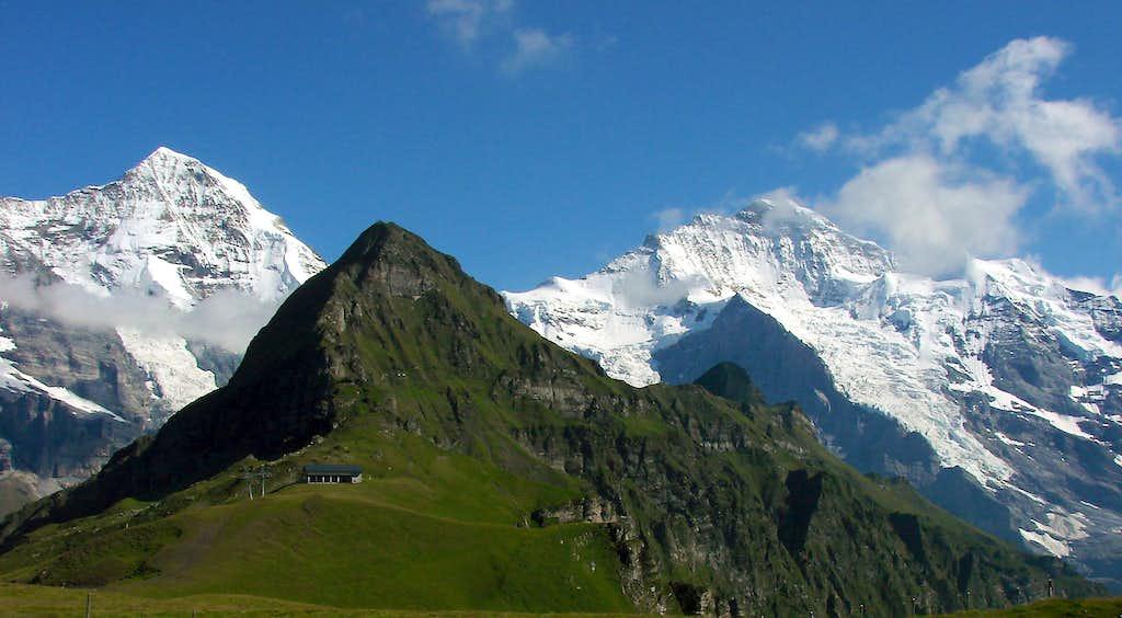 Mönch,Tschuggen,Jungfrau