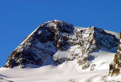 La Punta Calabre (3396m), versante nord