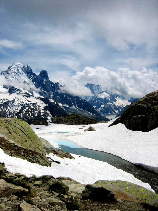 Lac Blanc in june, 2007