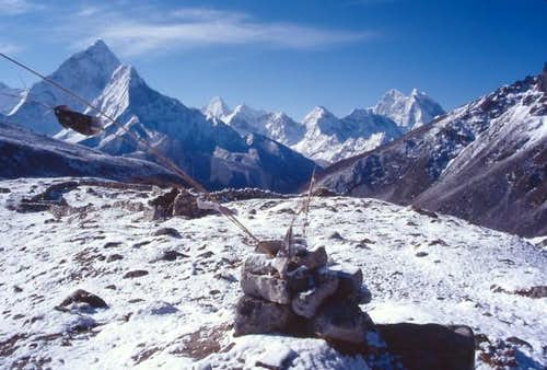 Ama Dablam Again - April 2002