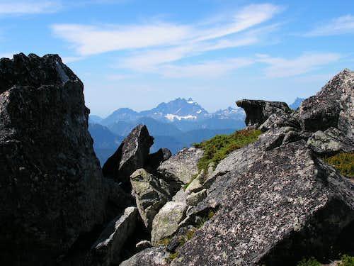 Stone Bear on the Summit