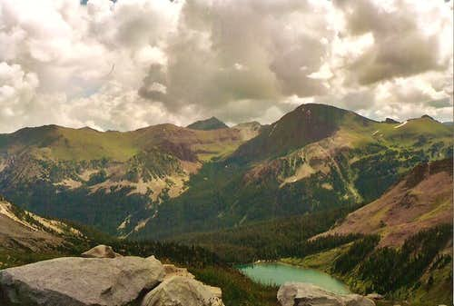 View of Snowmass Lake