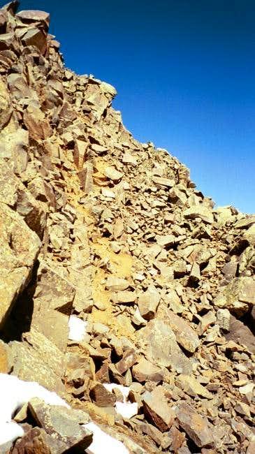 The route up Matterhorn