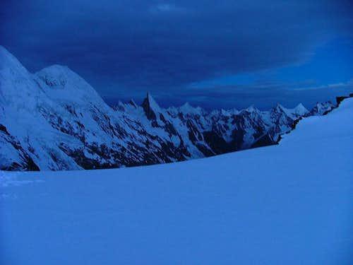 Laila Peak as seen from the top of gondogoro la